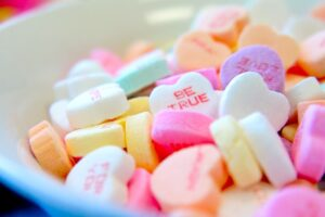 candy for valentines day