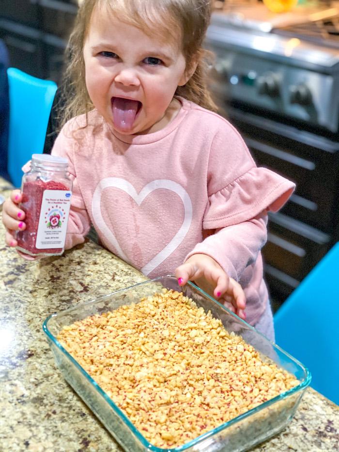 healthy crispy rice treats